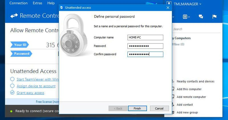 define-personal-password