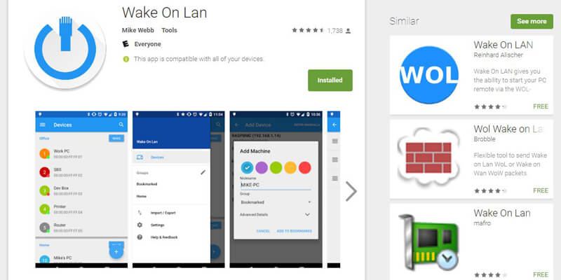 google-play-wake-on-lan
